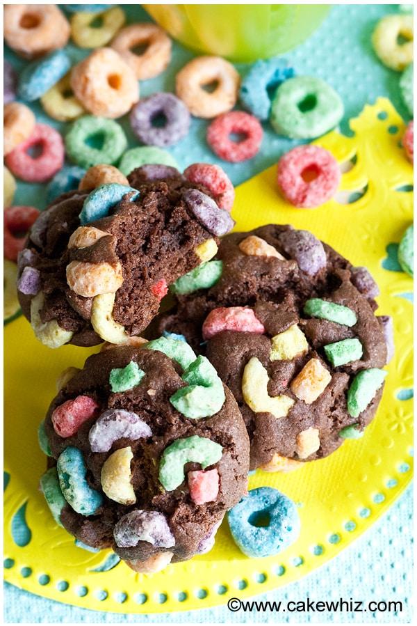 fruit loops chocolate cookies 7
