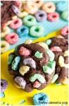 fruit loops chocolate cookies