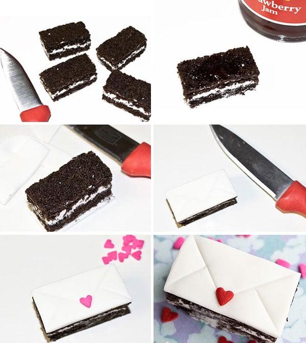 Mini Love Letter Cakes Cakewhiz