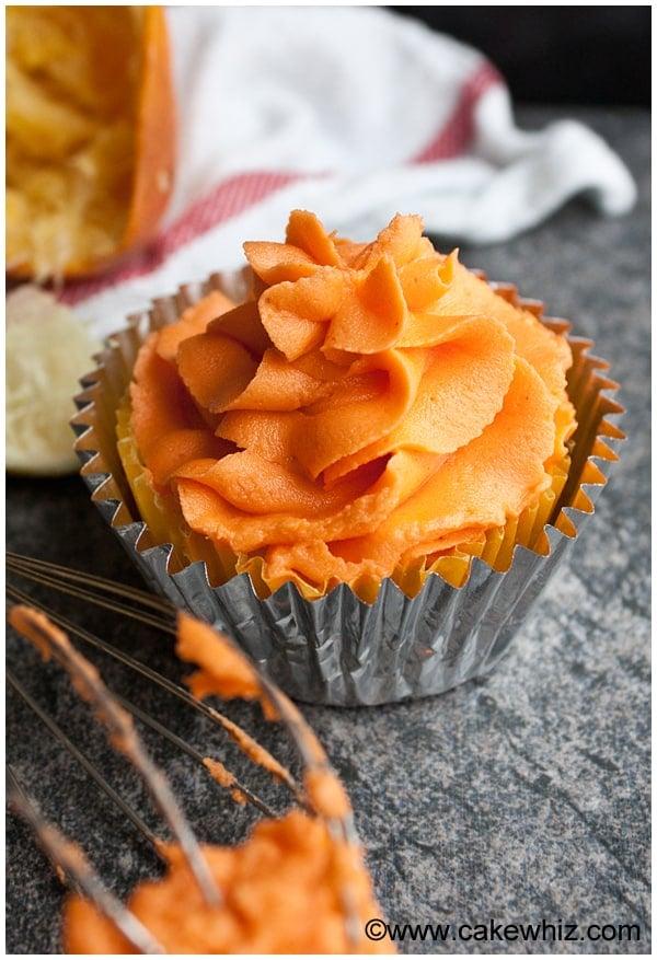 easy orange buttercream icing 2
