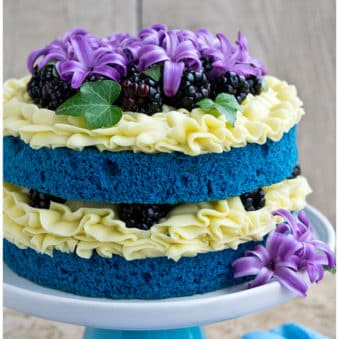 Naked Cake Recipe and Tutorial