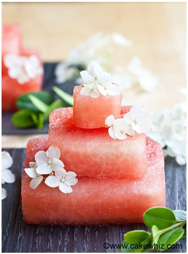 Watermelon Cake Recipe and Tutorial
