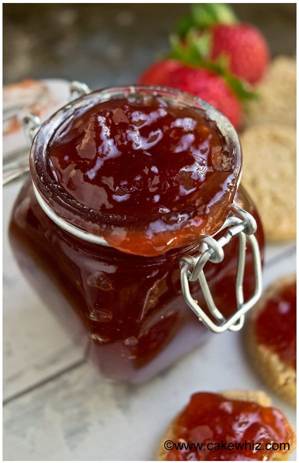 easy homemade strawberry jam 9