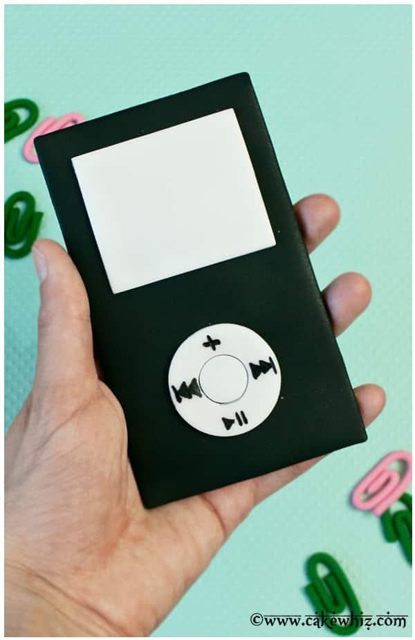 10 fun father's day ideas- edible fondant ipod