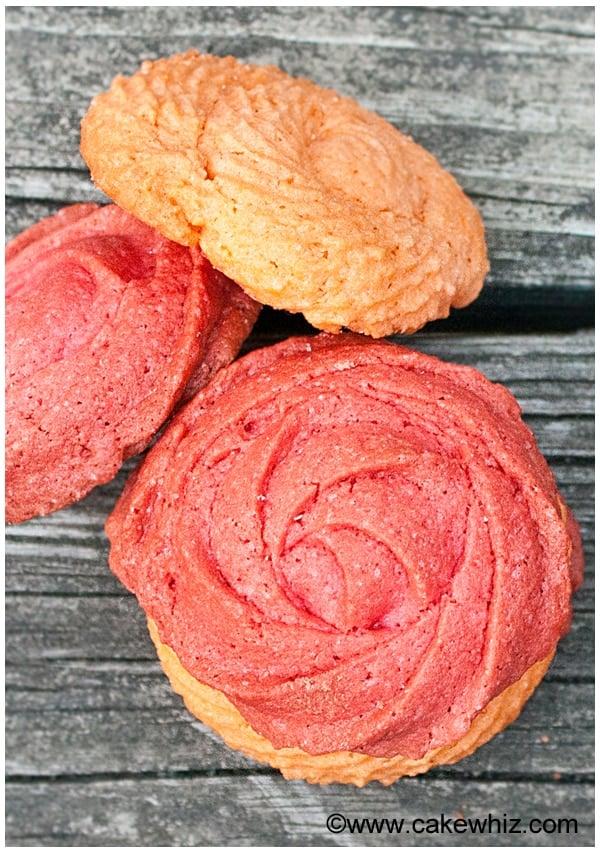 raspberry rose cookies 10