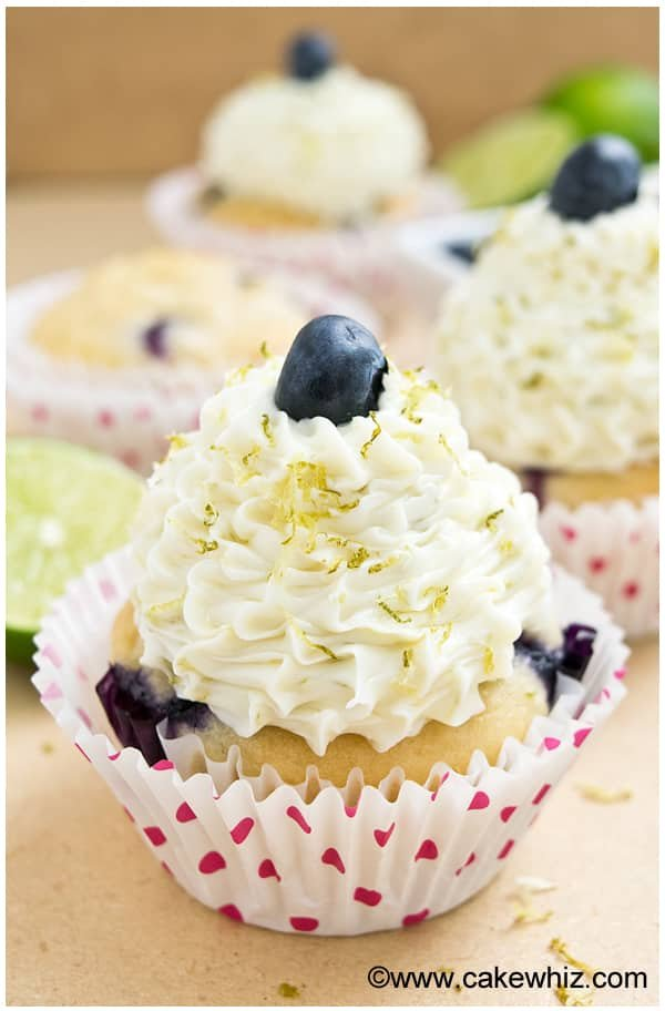 blueberry lime cupcakes 8