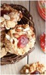 peanut butter and jelly thumbprint cookies 3