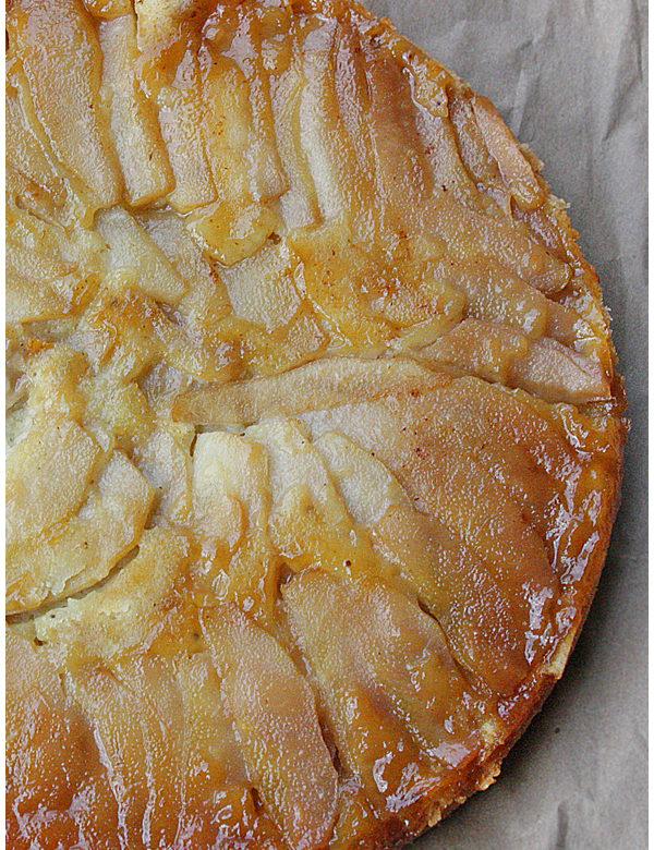 upside down pear cake 03