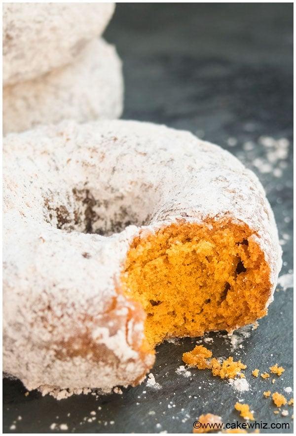 Easy Pumpkin Donuts Recipe