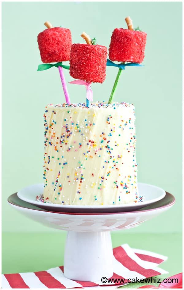 back to school apple pops cake 4