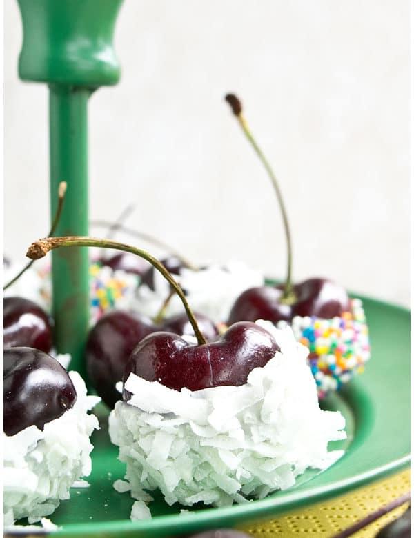 chocolate dipped cherries 3