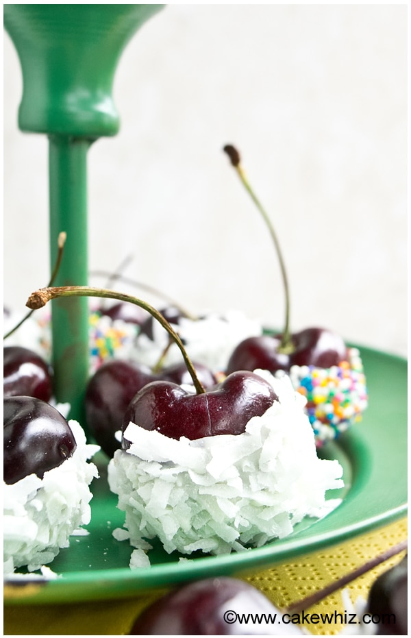 chocolate dipped cherries 3