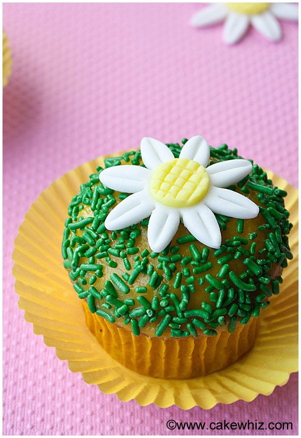 how to make fondant daisies 16
