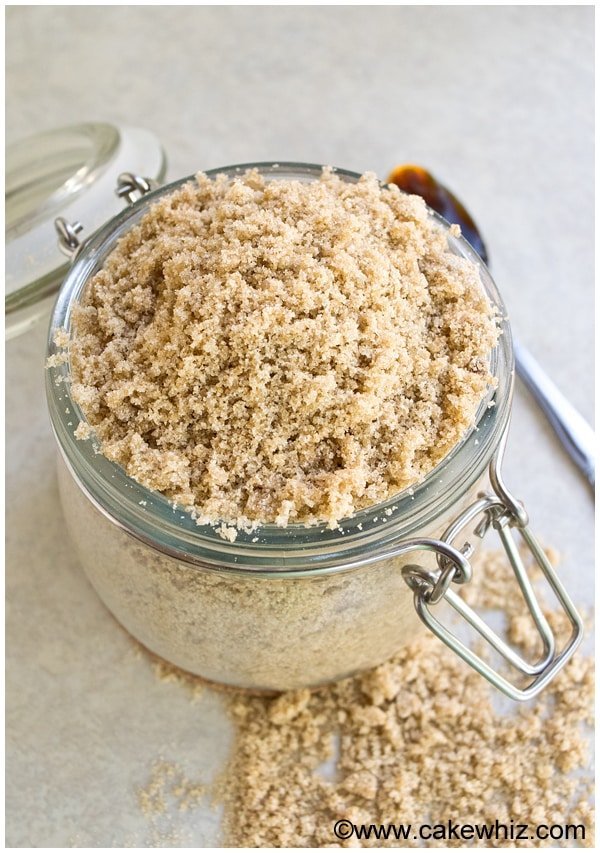 How To Make Brown Sugar (Homemade Brown Sugar Recipe)