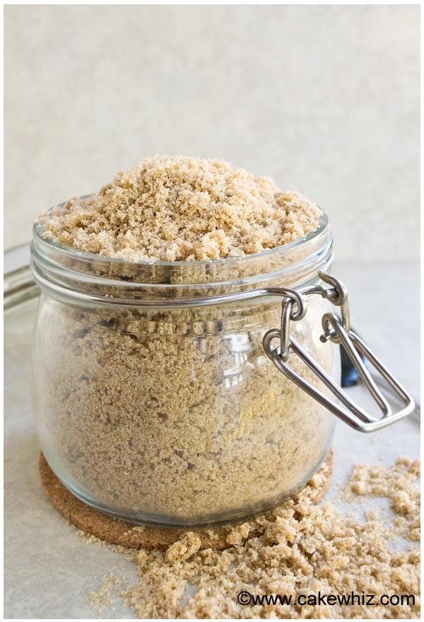 How to make homemade brown sugar - Cakewhiz