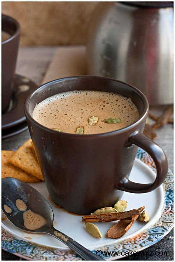 Masala Chai Cake Recipe