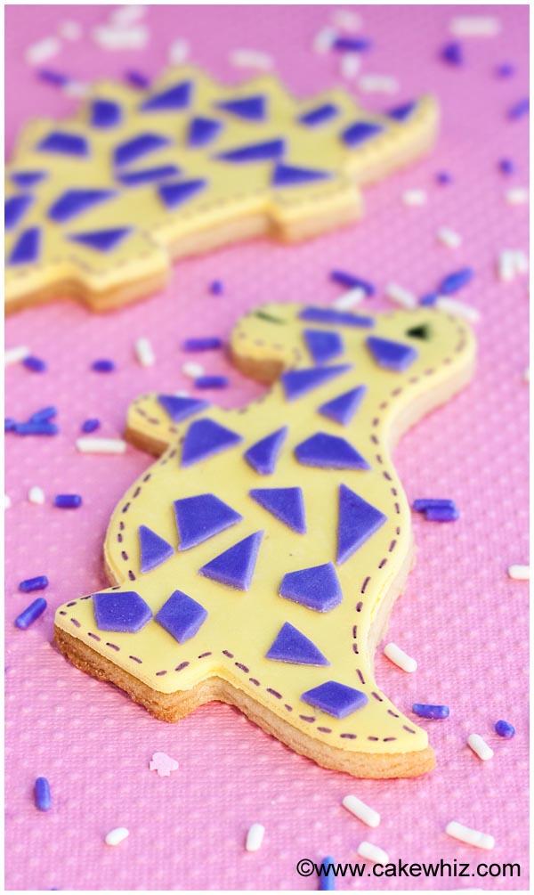 easy dinosaur cookies 10