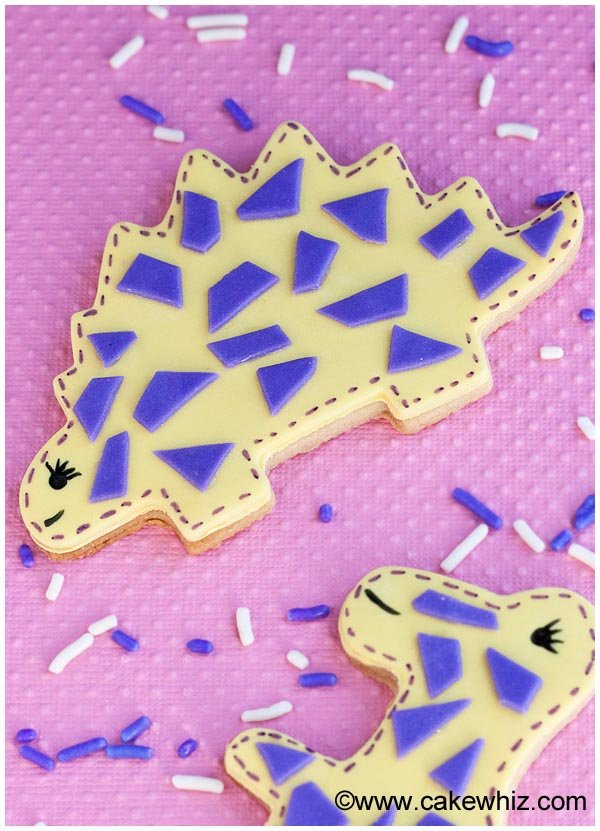 easy dinosaur cookies 3