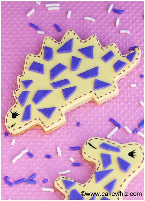 easy dinosaur cookies 3