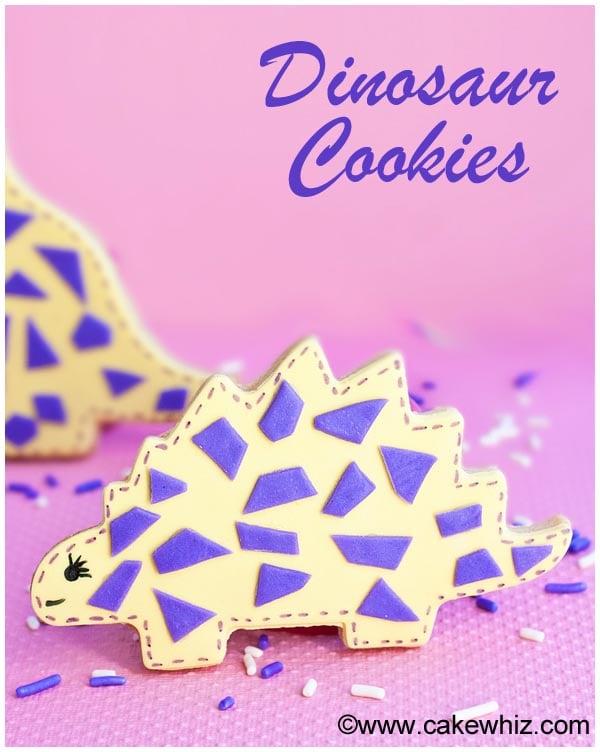 easy dinosaur cookies 5