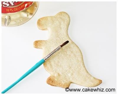 easy dinosaur cookies tutorial 12