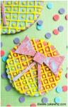 rainbow bow cookies 1