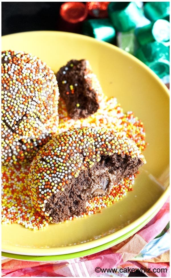 rolo chocolate cookies 3