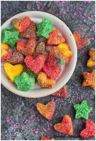 sugar hearts and sugar stars