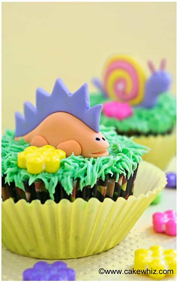 easy dinosaur cupcakes 2