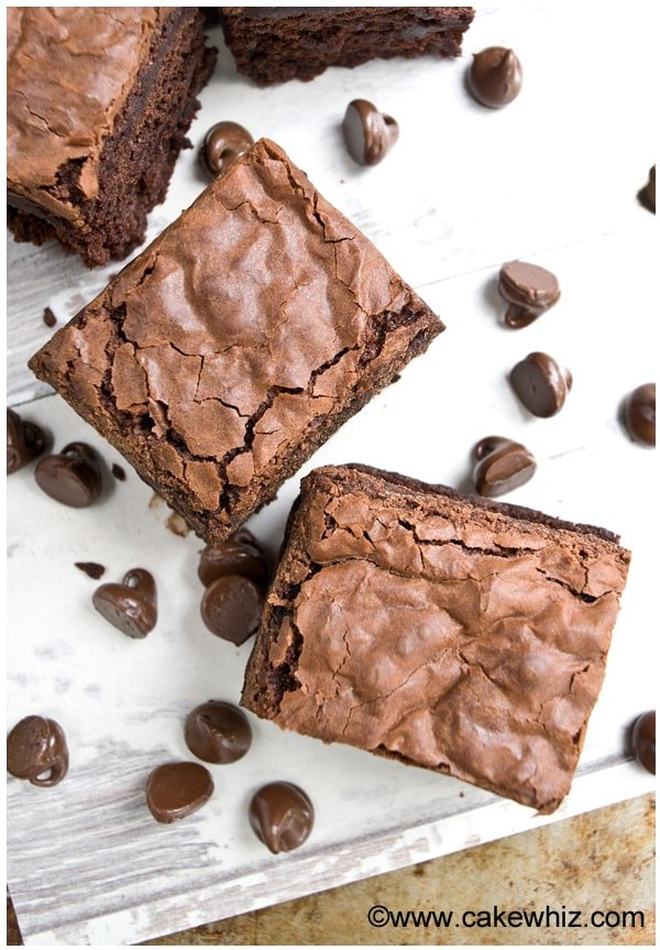 recipe: how to get flaky top on brownies [38]