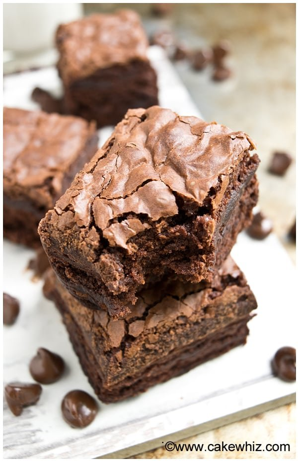 recipe: how to get flaky top on brownies [16]