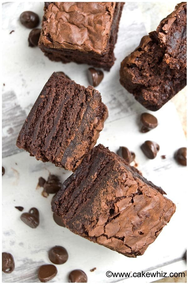 how to make fudgy brownies with crackly tops 5