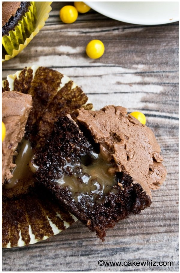 mocha cupcakes with mocha frosting 5
