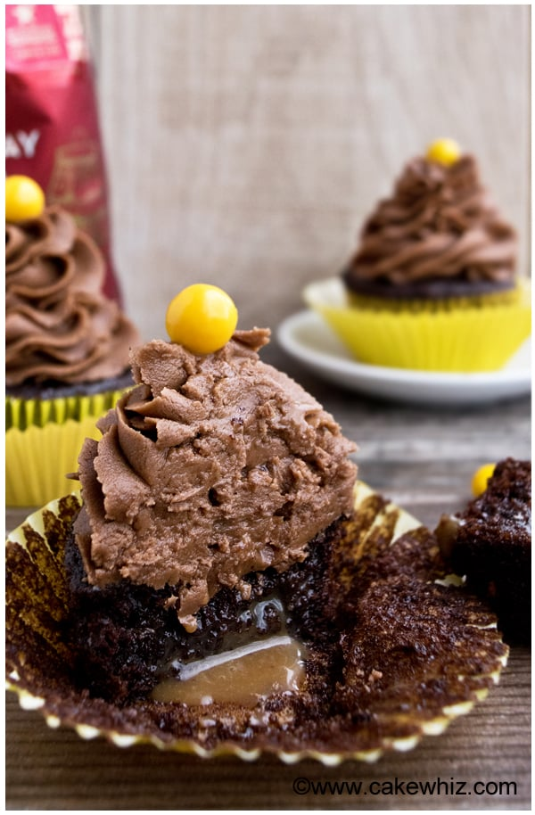 mocha cupcakes with mocha frosting 7