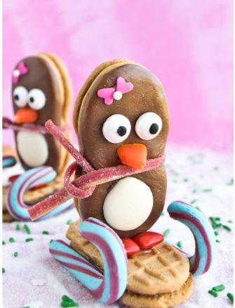 Easy Penguin Cookies for Kids