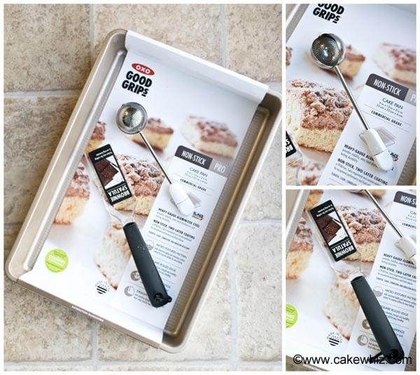 oxo brownie pan set 5