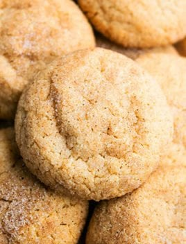 Easy Soft and Chewy Cinnamon Cookies Recipe