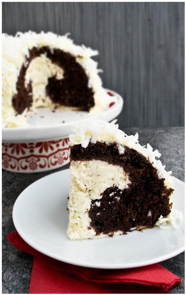 cheesecake stuffed devil's food cake 1