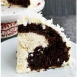 cheesecake stuffed devil's food cake
