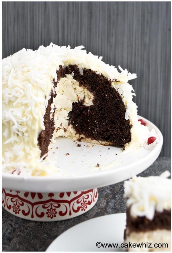 cheesecake stuffed devil's food cake 4
