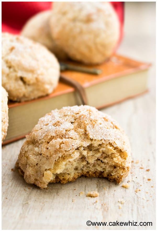 cinnamon crinkle cookies 3
