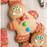 Easy Gingerbread Cookies Recipe (Gingerbread Man Cookies)