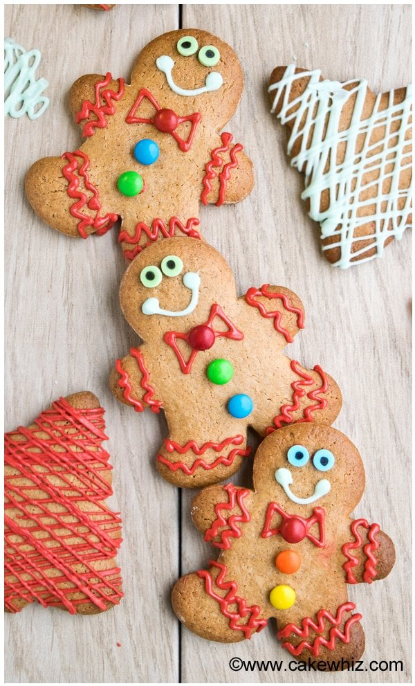 easy cake mix gingerbread cookies 4
