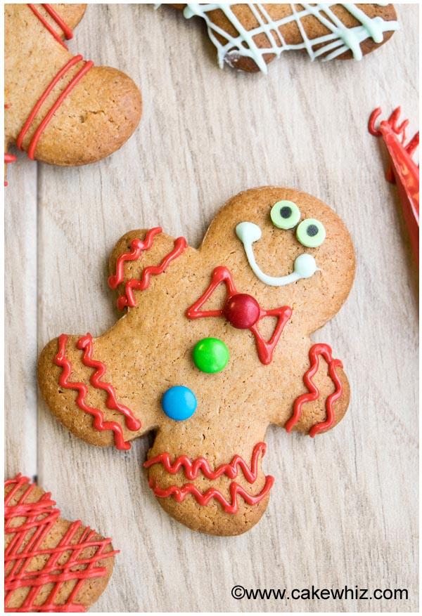 No fail gingerbread cookie recipe
