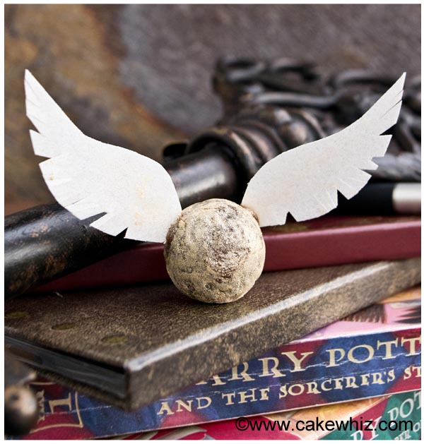 harry potter golden snitch ball truffles 20