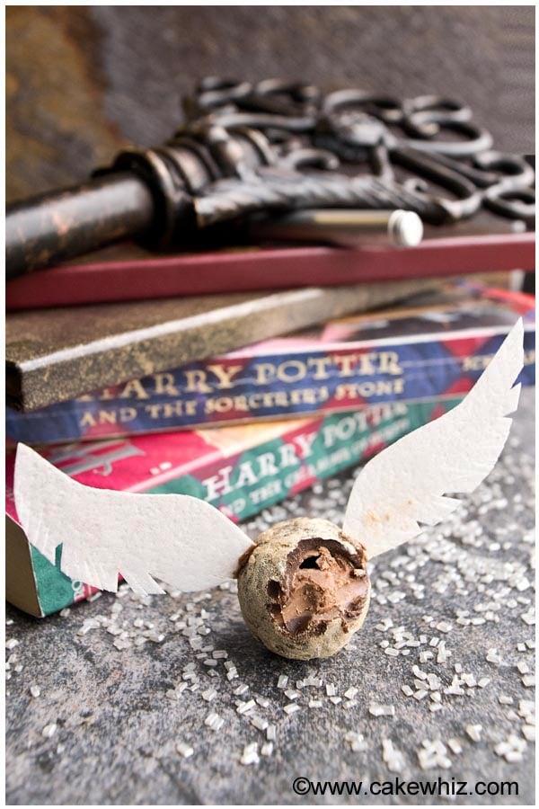 harry potter golden snitch truffles 3