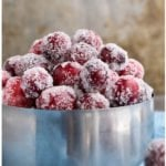 Sugared Cranberries Recipe (Quick and Easy)