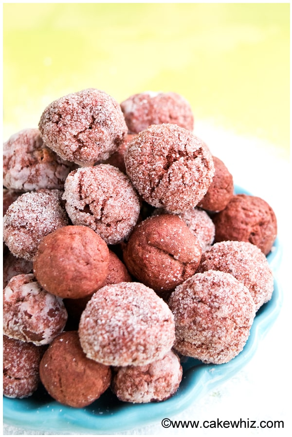 splenda red velvet crinkle cookies 2