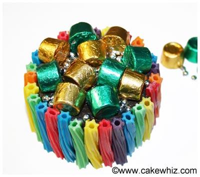 easy rainbow twizzler cake 11