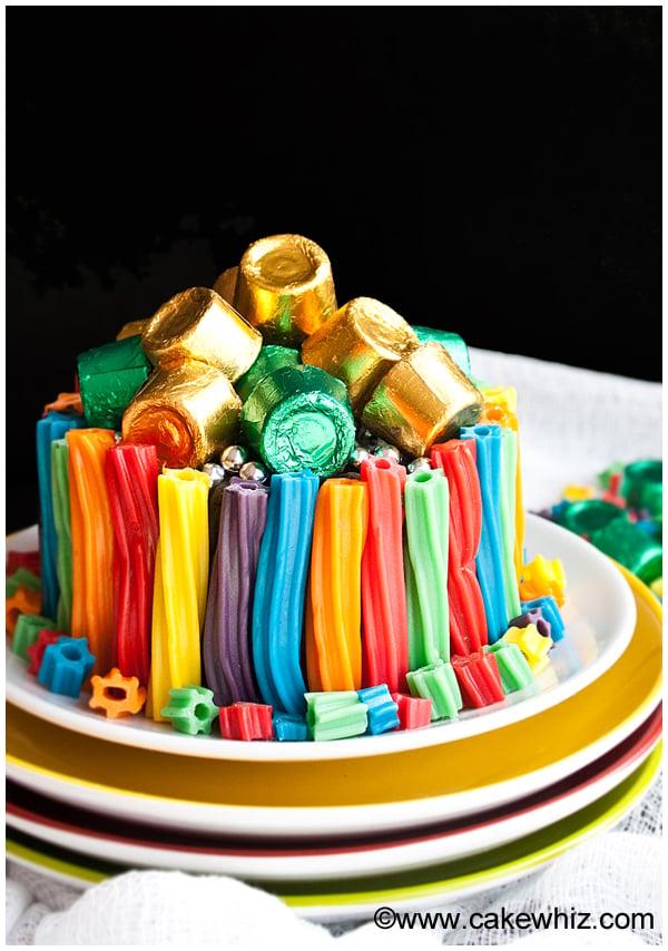 easy rainbow twizzler cake 4